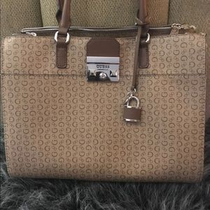 Large Authentic Guess purse